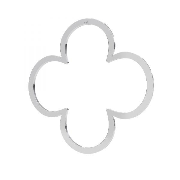 Klee anhänger, silber 925, LKM-2290 - 0,50 35x35 mm