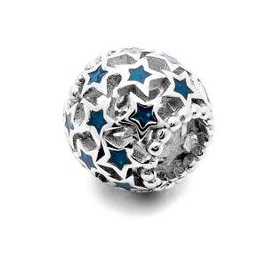 Runde Perlen*silber 925*BDS-00003