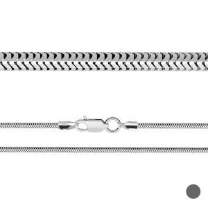 Flexible Schlangenkette*silber 925*CSTD 2,4 (34 cm)