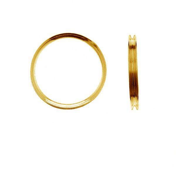 Silber ring basis RING 012 - 1,50 3x16,5 mm