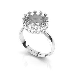 Ring für harz, silber 925, ODL-00681 U-RING