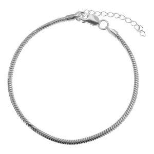 Armband kette*Sterlingsilber 925*HAND BASE CSTD 2,4 (18 + 4 cm)