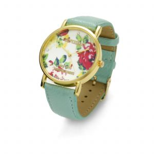 MINT FLOWER WATCH, MODEL 464