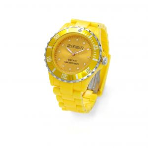 YELLOW MONTRE WATCH BRACELET - MODEL 444