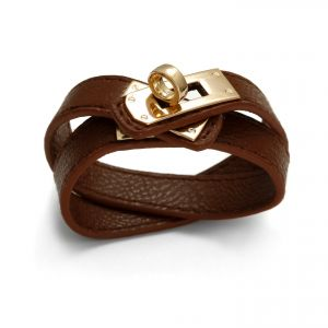BROWN HERMES BRACELET - MODEL 338