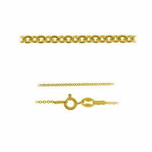 Anker kette*gold 585 14K*A 030 40-60 cm