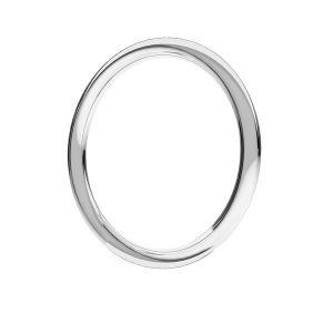 KCZ-1,00x16,0 - gelötete Ringe, sterling silber 925