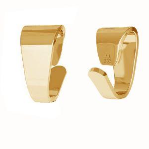 Anhängerschlaufe*gold 333*KR LKZ8K-30012 - 0,30 2,5x5 mm