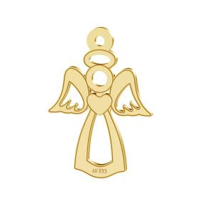 Engel anhänger*gold 333*LKZ8K-30016 - 0,30 13x18,5 mm