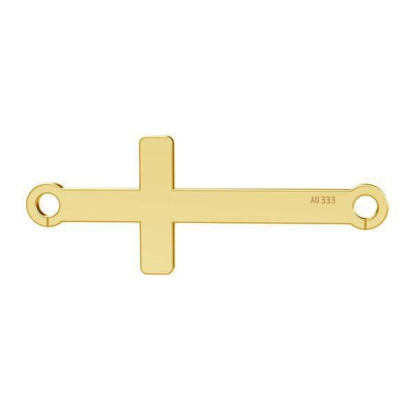 Horizontales Kreuz anhänger*gold 333*LKZ8K-30020 - 0,30 9x23 mm