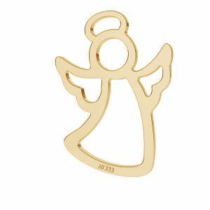 Engel anhänger*gold 333*LKZ8K-30026 - 0,30 11,5x15,7 mm