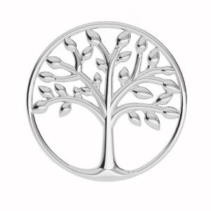 Baum des lebens anhänger, silber 925, LKM-2028 - 0,50