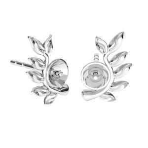 Herz anhänger Swarovski pearls, ODL-00774 4x22 mm (5818 MM 4, 5818 MM 6)