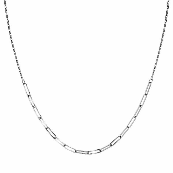 Halskette base, sterling silber 925, CHAIN 43 (FIO 100 3,1x10,7 mm)