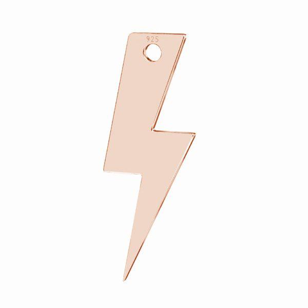 Blitz anhänger*silber 925*LKM-2827 - 0,50 7,9x21