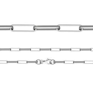 Diamant-Ankerkette*Sterlingsilber 925*FIO 100 45 cm