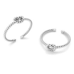 Seil ring silber 925, ODL-00624