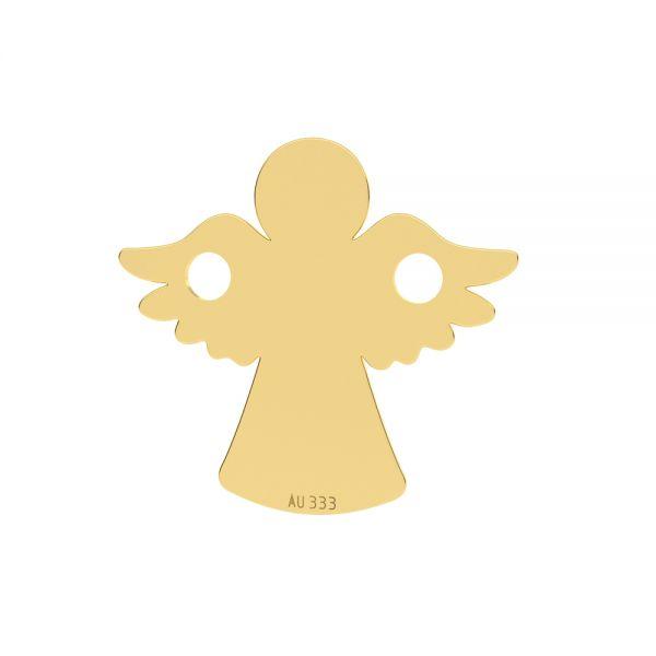 Engel anhänger*gold 333*LKZ8K-30095 - 0,30 13x13 mm