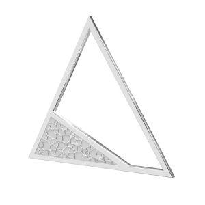Dreieck anhänger, silber 925, LKM-2746 - 0,50 17,4x20 mm