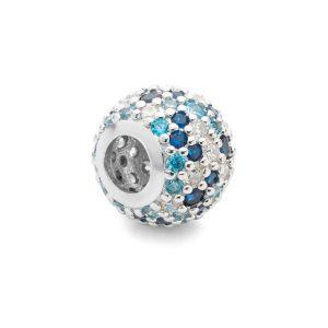 Runde Perlen Traumfänger*silber 925*BDS-00006 8,2x11 mm