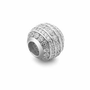 Runde Perlen Traumfänger*silber 925*BDS-00008 9,5x10,5 mm
