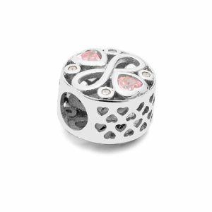 Runde Perlen Traumfänger*silber 925*BDS-00011 11x11,5 mm