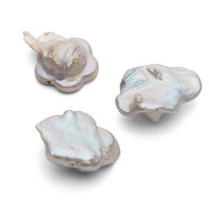 Blumen natürliche perlen 17 mm, GAVBARI PEARLS