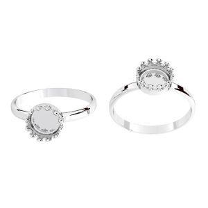 Ring für harz, silber 925, ODL-00681 RING (R-15)