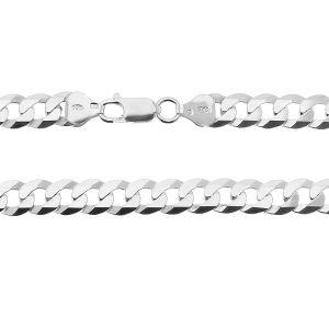 Panzerkette armband*Sterlingsilber 925*PD 180 6L 19 cm