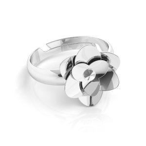 Rose ring *silber 925*U-RING ODL-00041 11 mm