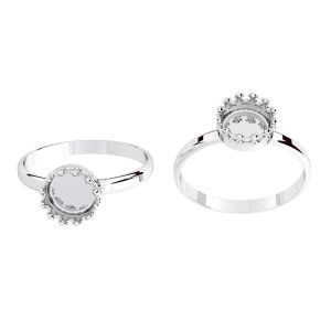 Ring für harz, silber 925, ODL-00681 RING (R-13)