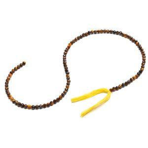Tigerauge runde perlen stein 3 MM GAVBARI, halbedelstein