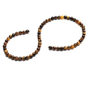 Tigerauge runde perlen stein 6 MM GAVBARI, halbedelstein