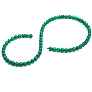 Grüner Onyx runde perlen stein 6 MM GAVBARI, halbedelstein