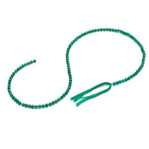 Grüner Onyx runde perlen stein 3 MM GAVBARI, halbedelstein