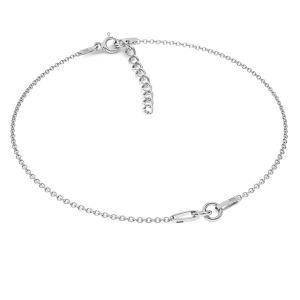 Armband -Kette Basis*Sterlingsilber 925*BRACELET 18 (A 030) + R1 50 15-19 cm