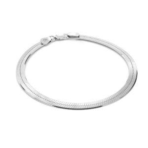 Schlangenkette armband*Sterlingsilber 925*MAG 050 19 cm